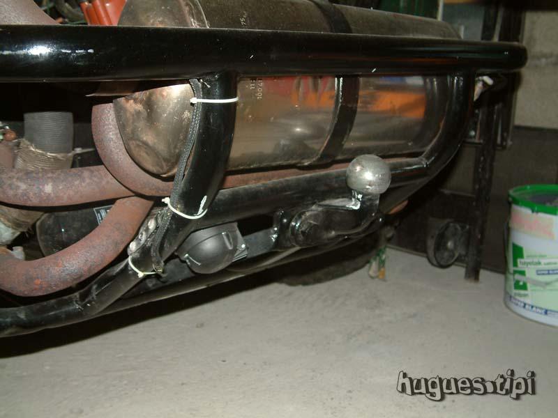 Le faisceau éléctrique d'un buggy Attelage1